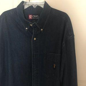 Men's Jean Chaps Button-Up